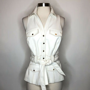 Cache Contour Collection Belted Jacket